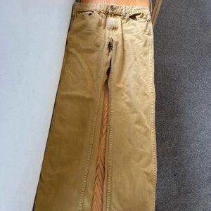 J Crew The Sutton 💯 Percent Cotton Jeans 32 x 34